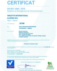 ISO 14001 :2015